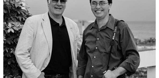 Michael Connors and Cuban photographer Nestor Marti