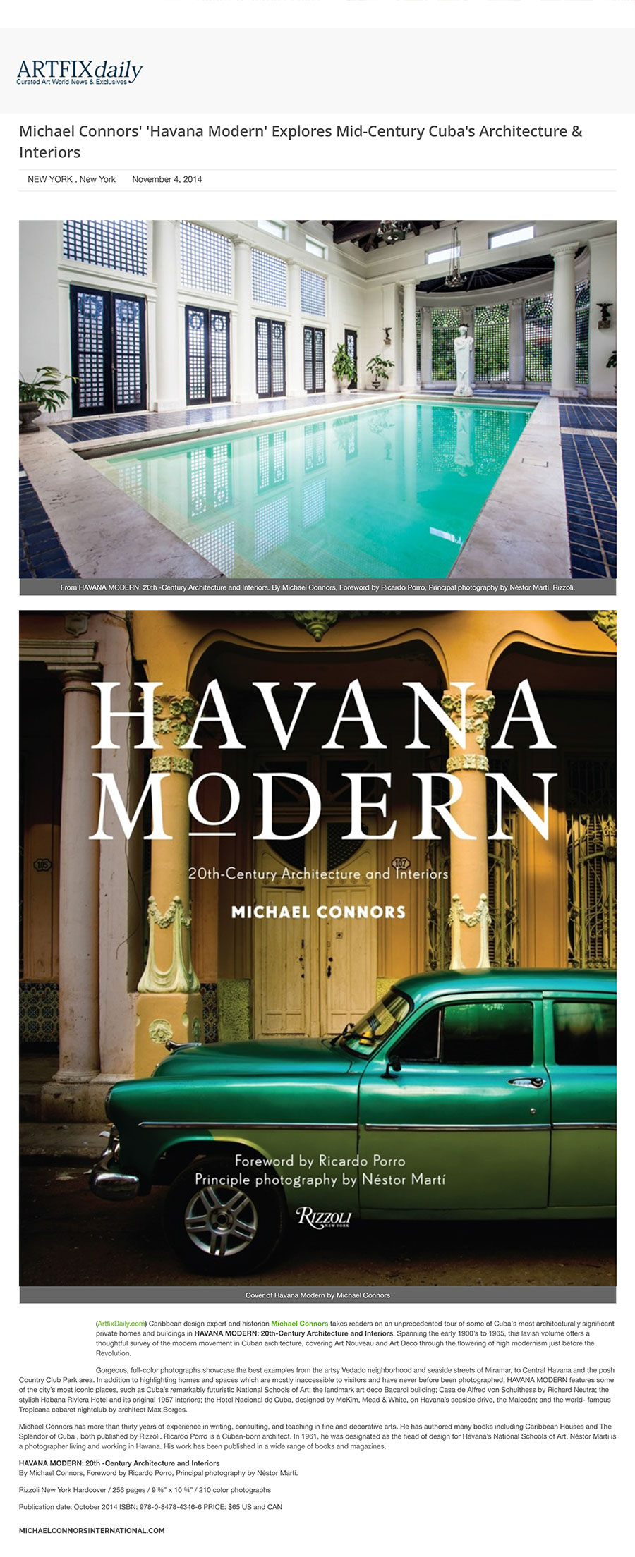 Michael-Connors-Havana-Modern-Explores-Mid-Century-Cuba-Artwire-Press-Release-from-ArtfixDaily