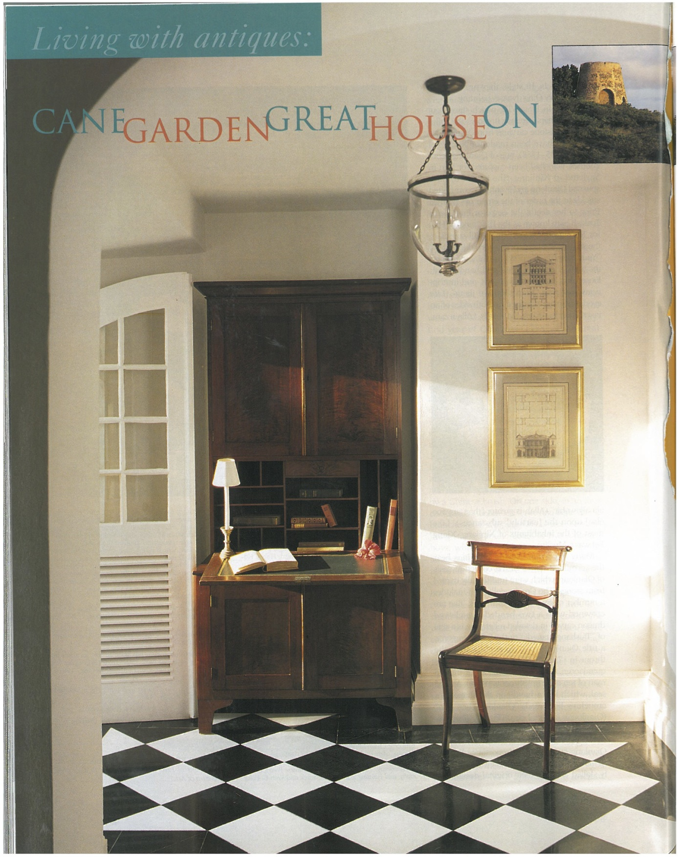 2000-March-Living-with-antiques-Cane-Garden-Great-House-on-STX-USVI-The-Magazine-Antiques-cover